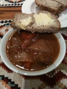Porter-braised beef stew