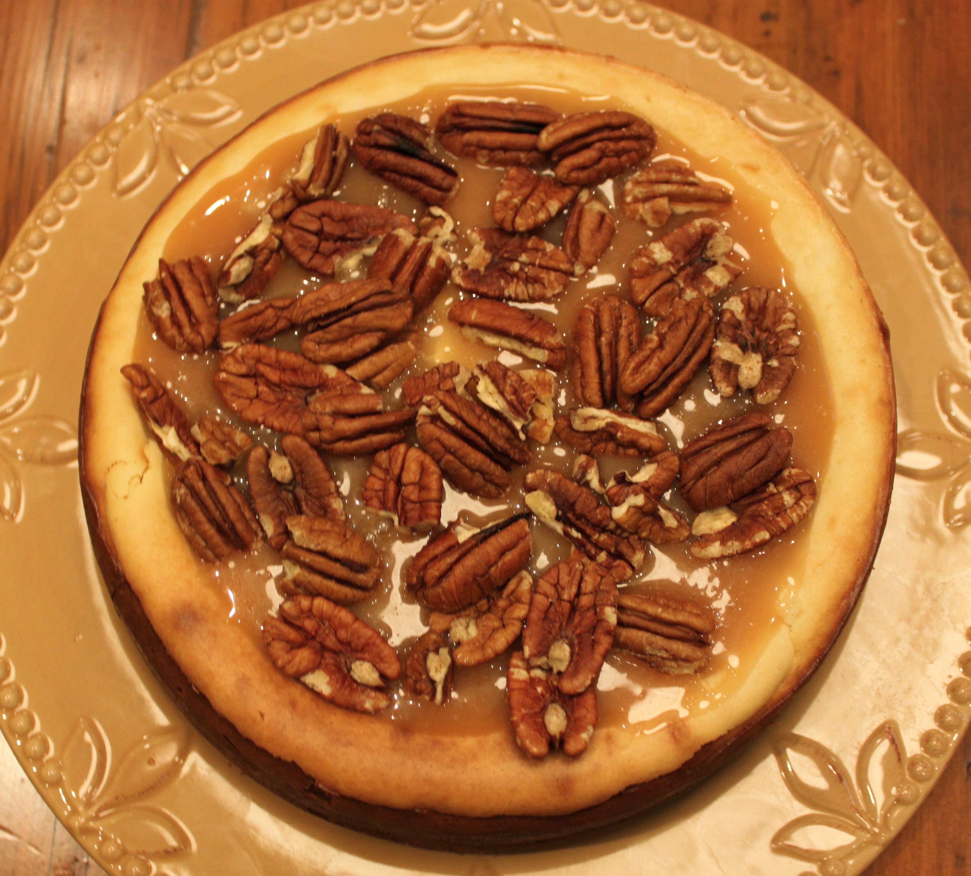 Very popular images: Caramel Pecan Cheesecake