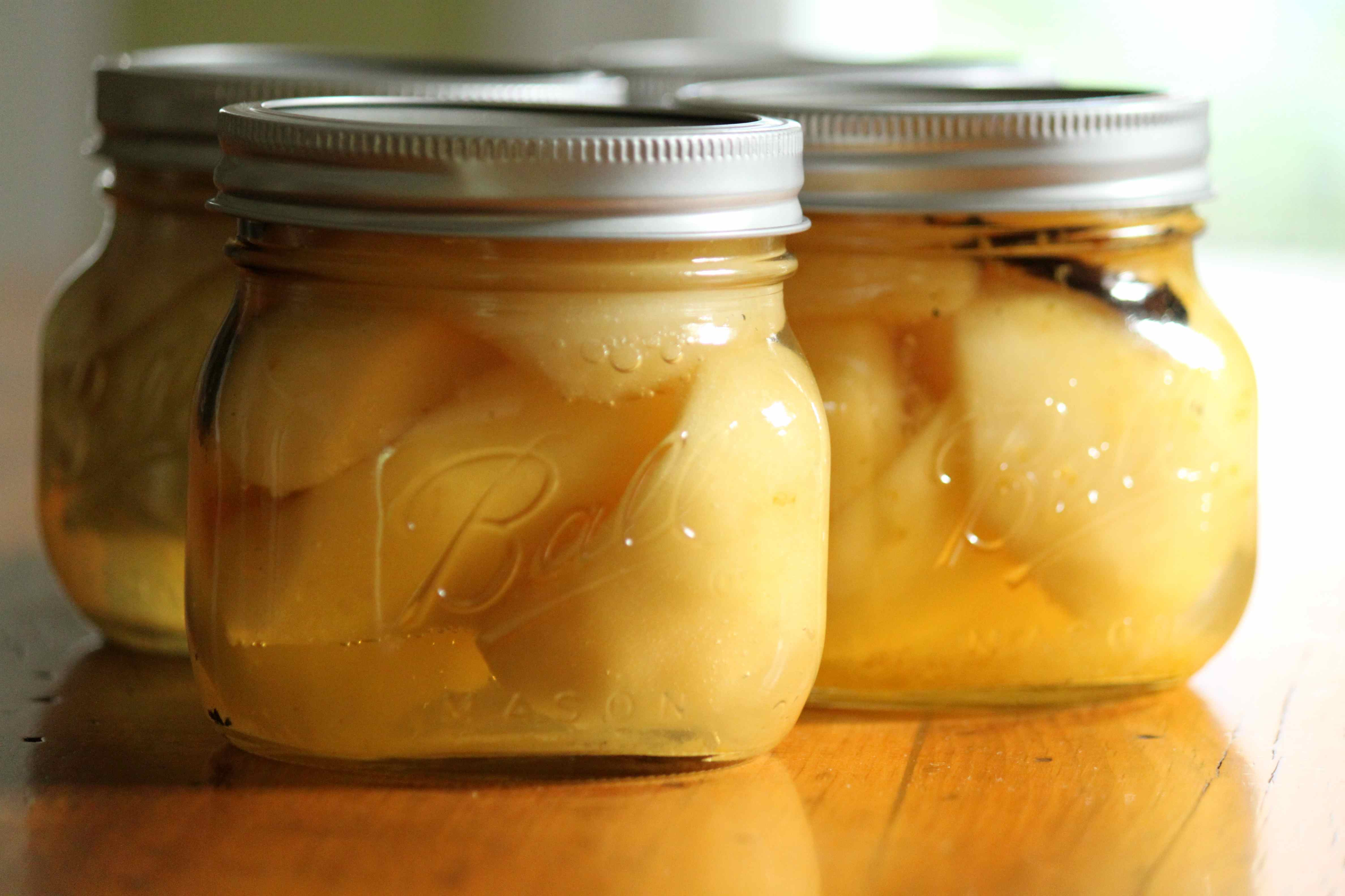 Preserved pears with brandy | Meats, Roots and Leaves